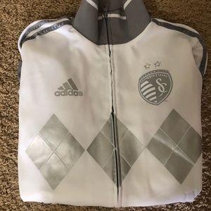 Adidas Sporting KC jacket